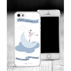 Carcasa 2D IPhone 5/5S con borde de silicona personalizada