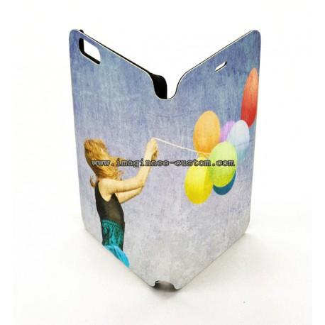 Funda piel iPhone 6 plus personalizada