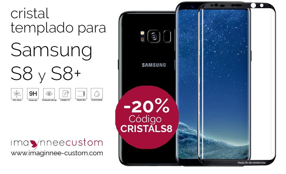 Descuento del 20% en los cristales templados de toda la serie S de Samsung